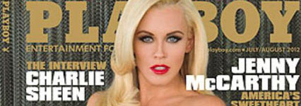 Jenny McCarthy naakt in Playboy